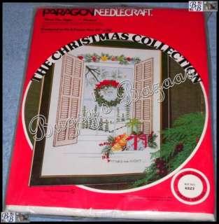 TWAS THE NIGHT Christmas Crewel Stitchery Kit   G. Ball