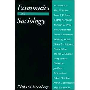 Economics and Sociologists (9780691042480) Richard Swedberg Books