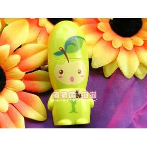 Green Apple Character Mini Portable Fan
