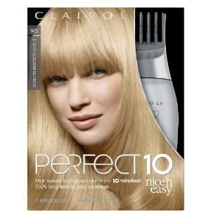 Clairol Nice n Easy Perfect 10 #9G Light Golden Blonde