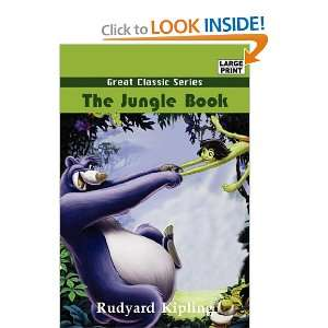 The Jungle Book (Large Print) (9788184568479) Rudyard