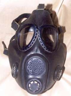 FULL SET SOVIET MILITARY GAS MASK PBF.Never used black