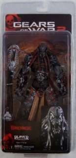 Gears of War 2 Series 6 Skorge Action Figure NECA MIP