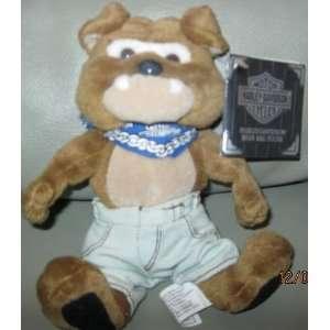 Harley Davidson Bean Bag Plush Spike the Bulldog Toys & Games