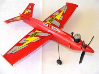 Cox Red Wing Racer Model Engine Powered Control Line Airplane