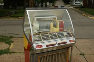 1955 SEEBURG HF100J JUKEBOX $500 IN NEW VICTORY GLASS!