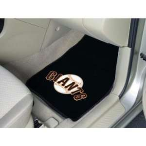San Francisco Giants MLB Car Floor Mats (2 Front)