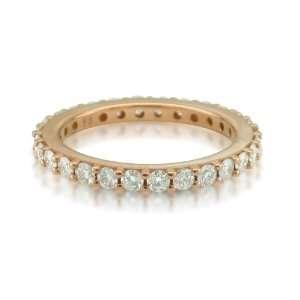 Gold Diamond Eternity Band Ring (GH, SI3 I1, 1.00 carat) Jewelry