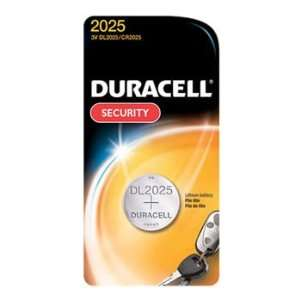 5 x CR2025 Duracell 3 Volt Lithium Coin Cell Batteries On