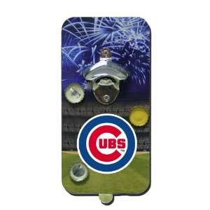 Chicago Cubs MLB Magnetic Bottle Opener & Cap Catcher