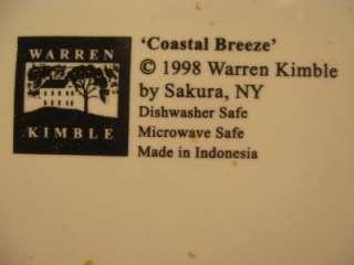 Sakure Warren Kimble COASTAL BREEZE Plate 1998 8 1/4