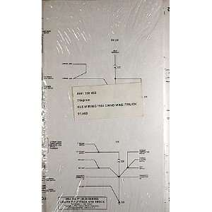 Truck Original Wiring Diagram Schematic AMC Jeep 1958 1988 Books