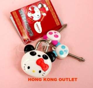 Hello Kitty Sanrio Mini Diary Lock Padlock Cute F6b