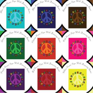 CUSTOM Grateful Dead Peace Sign Bears Baby Memory Book