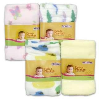 Fleece Receiving Blanket, Baby Shower, Diaper Cake, Safari, Car