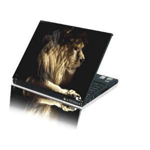 Laptop Notebook Skins Sticker Cover H235 Lion Skin (2 Free touch pad