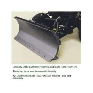 Subframe For 42 Snow/Dozer Blade   1695195 Patio, Lawn & Garden