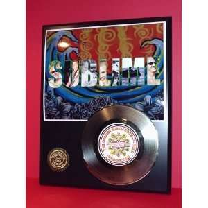 Gold Record Outlet Sublime 24KT Gold Record Display LTD