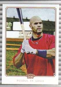 2010 Topps T 206 T206 #221 Albert Pujols Cardinals