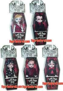 Living Dead Dolls MINI SET 5 DOLLS SERIES 2 MINT MEZCO