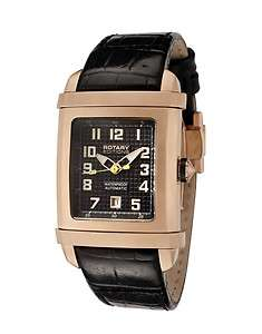 ROTARY Editions 402B AUTOMATIC Gold Gents Watch   RRP £230   NEW