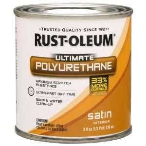 Oleum 260356 Ultimate Polyurethane, Half Pint, Satin