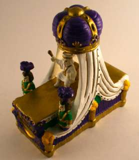 KING REX MARDI GRAS NEW ORLEANS FLOAT PORCELAIN NEW SML