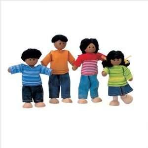 Plan Toys 741600 Dollhouse Ethnic Doll Family Toys
