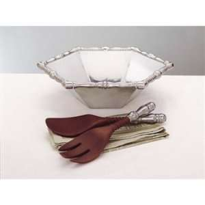 Reed & Barton Bannister 3 Piece Salad Bowl Set: Kitchen