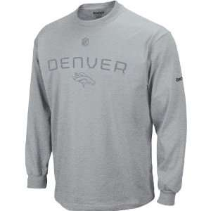 Reebok Denver Broncos Big & Tall Sideline Basic Training Long Sleeve T