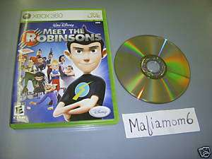 Meet The Robinsons Xbox 360 Walt Disney NTSC w/Case 712725003593