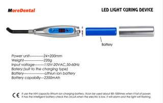 New Dental Dentist LED Curing Light Lamp Unit 1500mw