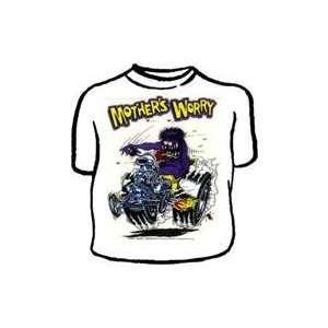 Rat Fink tee shirt Mothers Worry Size: XL: Automotive