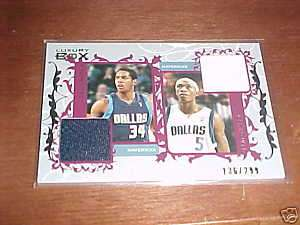 06 07 Luxury Box Devin Harris/Josh Howard JERSEY 136/299