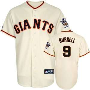 Pat Burrell Youth Jersey San Francisco Giants #9 Home