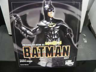 DC DIRECT MOVIE BATMAN MICHAEL KEATON AS BATMAN RARE BUST NEW