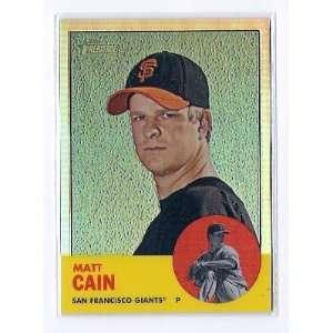 #HP53 Matt Cain San Francisco Giants #ed 285/563