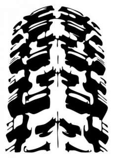 MOTOCROSS STICKER DIRTBIKE MX SUPERCROSS TIRE METAL MULISHA VINYL