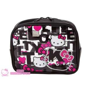 Sanrio Hello Kitty Vinyl Pouch/Cosmetic/Travel Pouch/  M