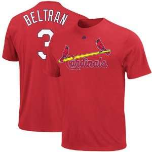 Majestic Carlos Beltran St. Louis Cardinals #3 Player T