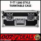 TURNTABLE ATA FLIGHT ROAD CASE DJ TECHNICS 1200 STANTON T62 NUMARK TTX