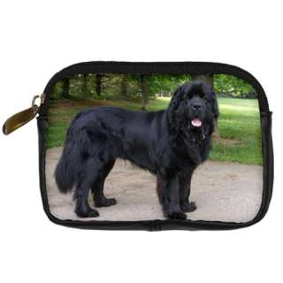 NEWFOUNDLAND DOG PUPPY PUPPIES PICTURE PHOTO DIGITAL CAMERA BAG CASE