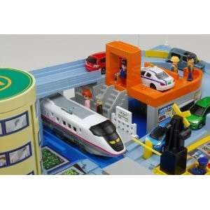 railway crossing station tomy http www takaratomy co jp products