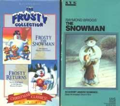 the Snowman Frosty Returns Snowman VHS Raymond Briggs Classics