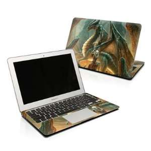 Dragon Mage Design Protector Skin Decal Sticker for Apple MacBook Pro