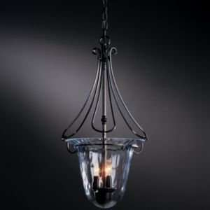 Draped Loop Foyer Pendant With Water Glass  R080113 Size