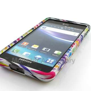 Rainbow Zebra Hard Case Cover For Samsung Infuse 4G