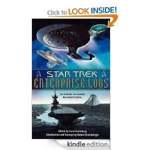 Enterprise Logs (Star Trek (Unnumbered Hardcover)) Carol Greenburg