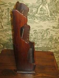 Ethan Allen Antiqued Old Tavern Pine Planter & Spoon Rack