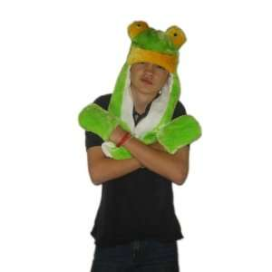 Plush Long Frog Brand New Animal Hat High Quality